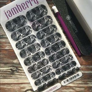 Jamberry Black Lace Nail Wraps
